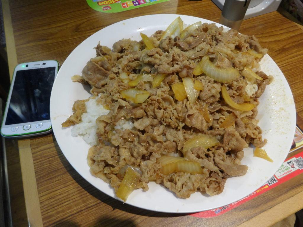 牛丼キングサイズ