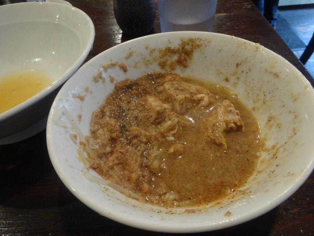 凛@渋谷 特濃つけ麺のスープ