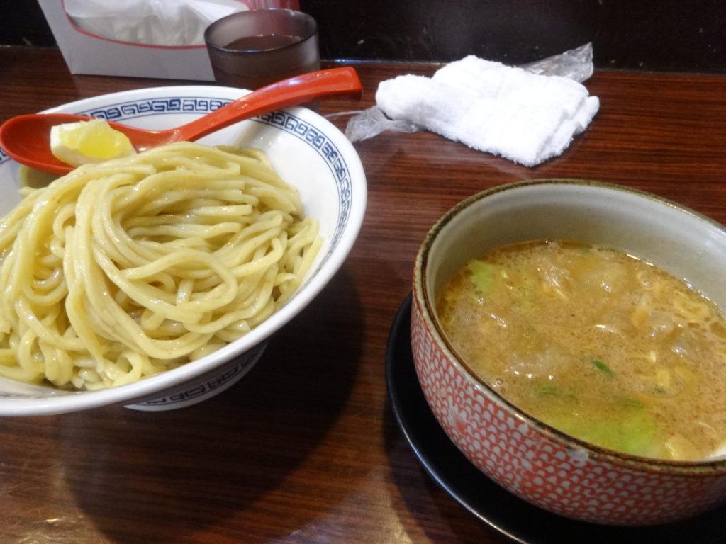ちっちょ極@渋谷(ホルモンつけ麺)