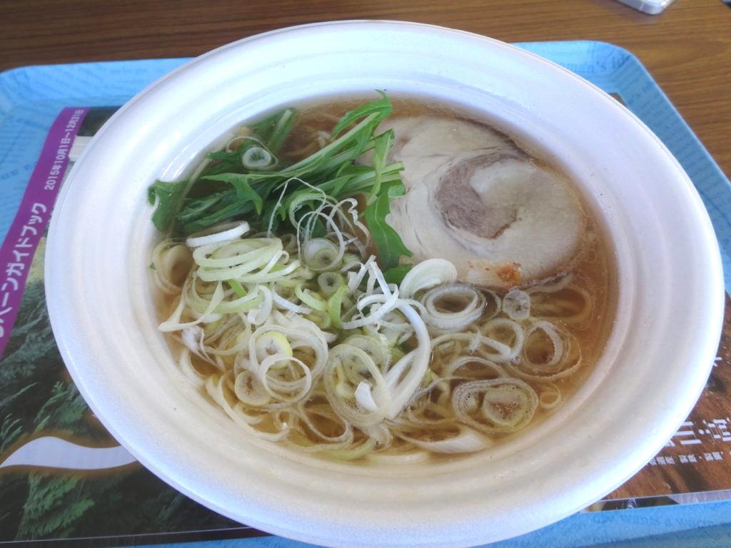 大船渡秋刀魚だしラーメン@東京ラーメンショー