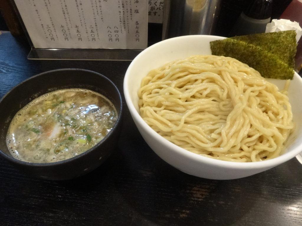 江戸前煮干中華そば きみはん 五反田 つけ麺