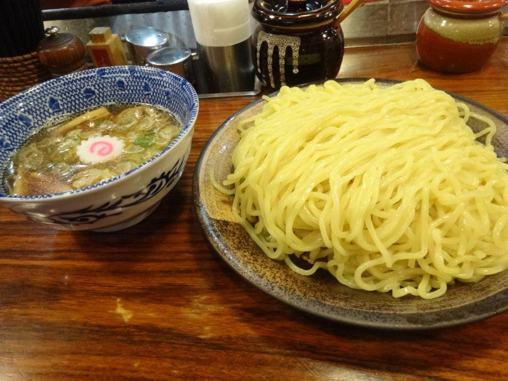 つけ麺大臣@渋谷 煮干しつけ麺