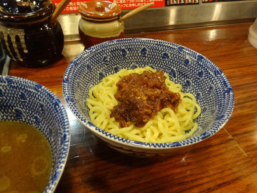 つけ麺大臣@渋谷 ジャージャー麺