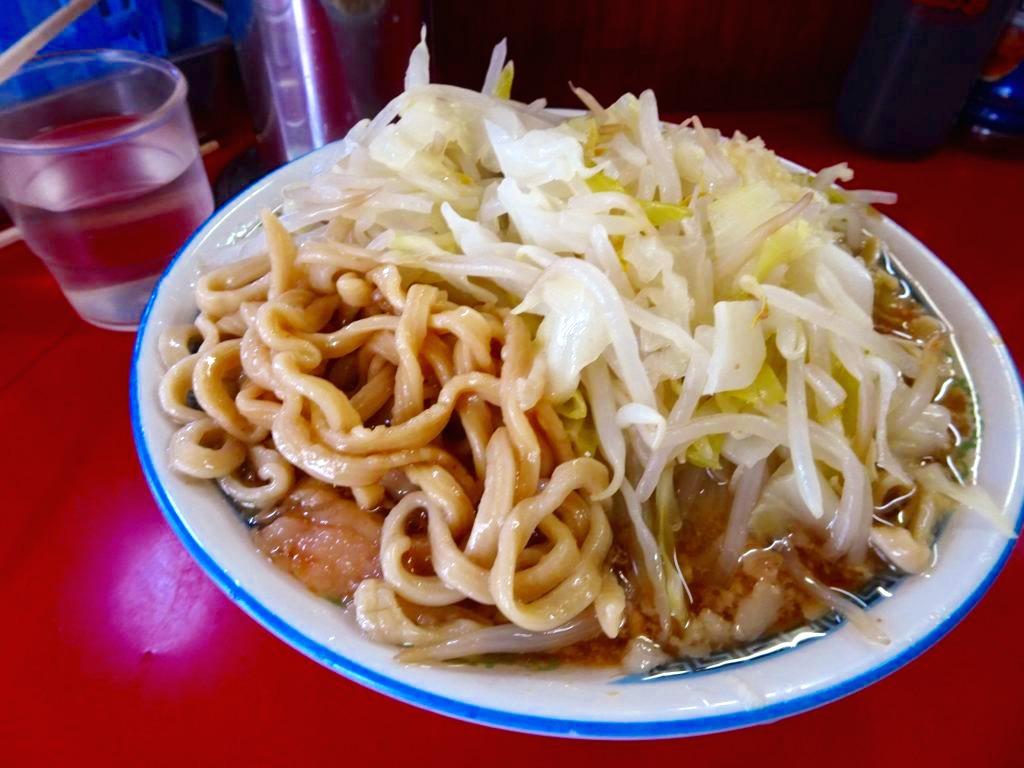 二郎 目黒 小の麺