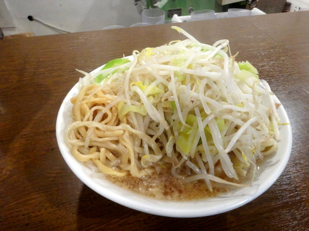 凛のラーメンの麺