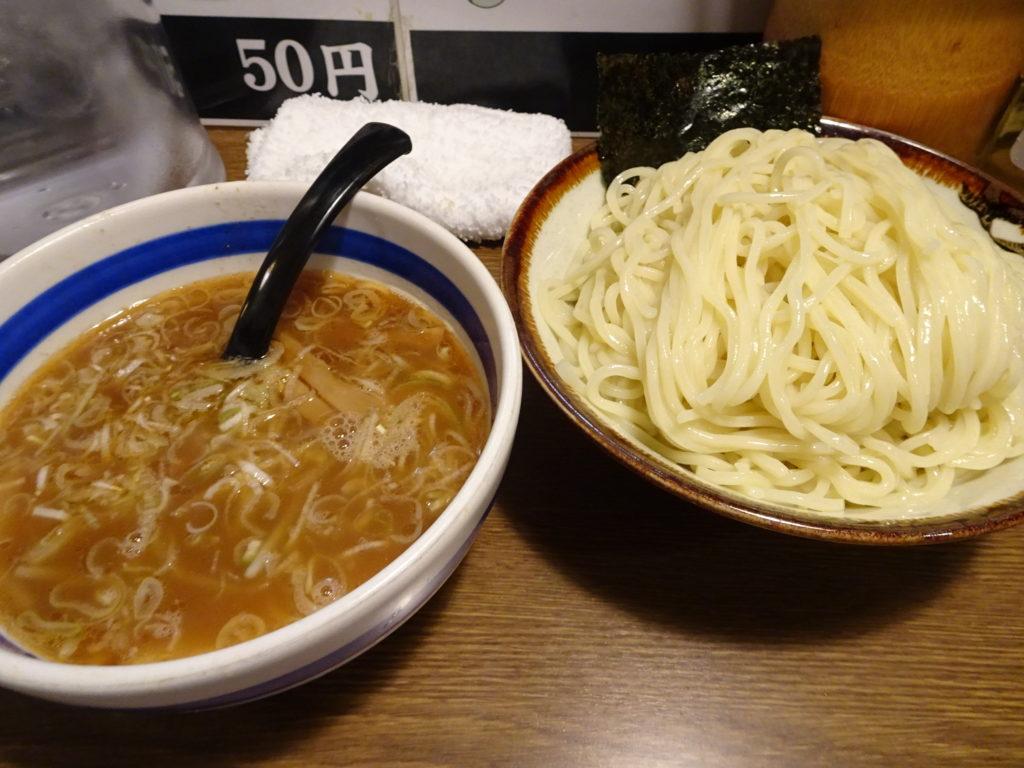 大勝軒 十五夜@新宿のつけ麺