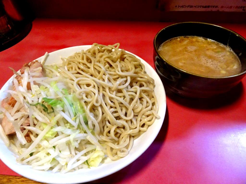 ラーメン二郎 新宿歌舞伎町 つけ麺
