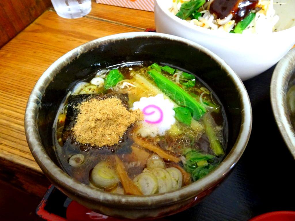 玄古つけ麺 スープ