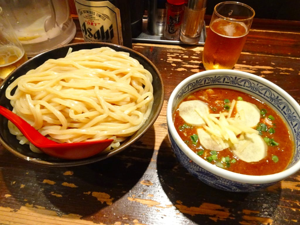 生姜つけ麺 大盛り