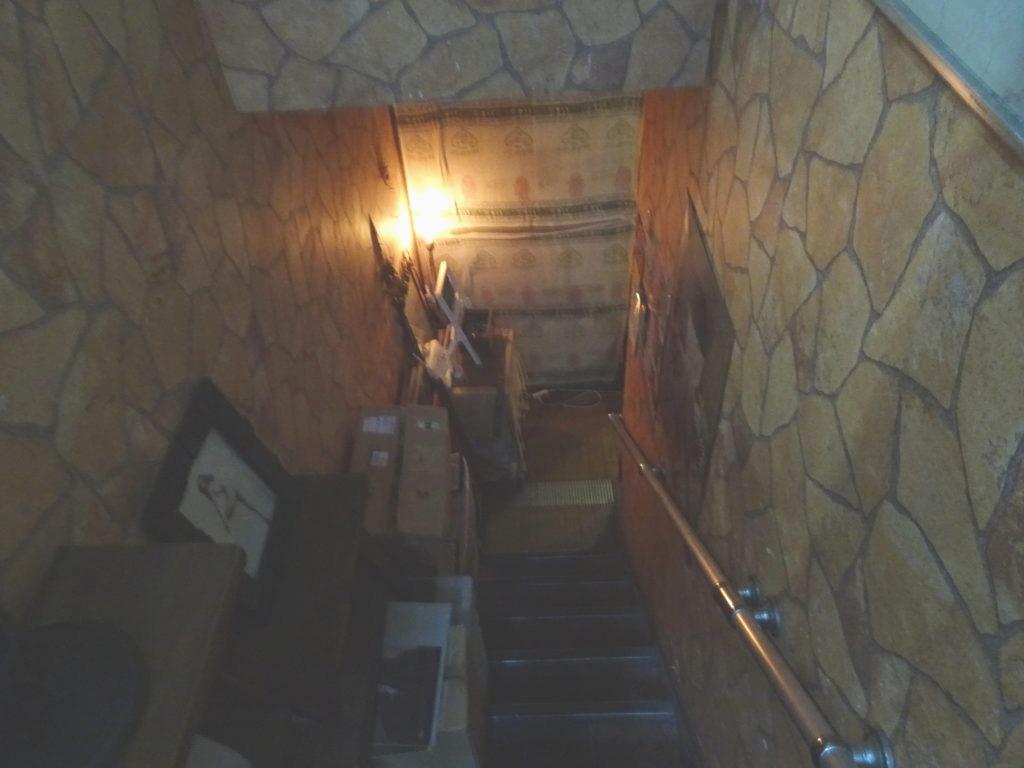 酒魂(さかだま) 地下への入り口