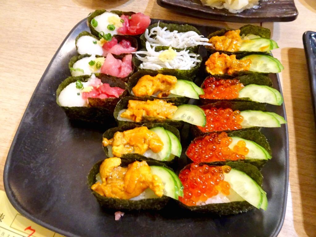 寿司アカデミーの食べ放題