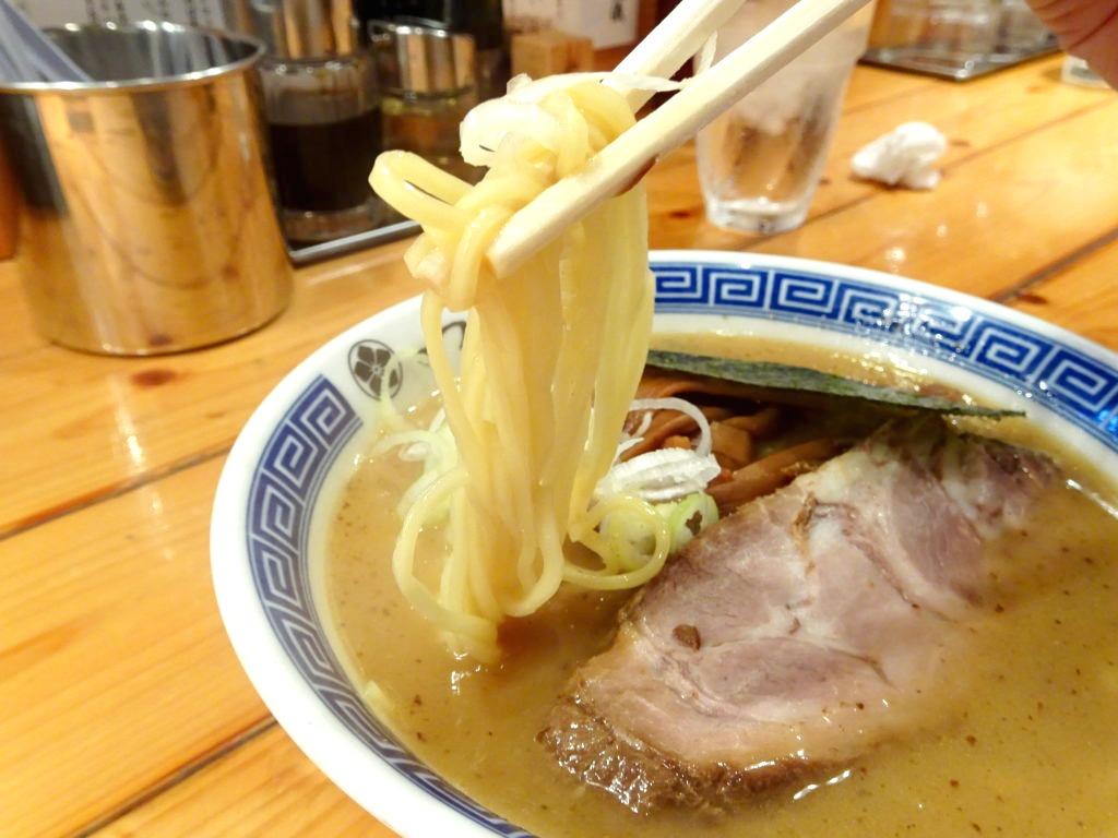 つじ田 神田御茶ノ水店 濃厚らーめんの麺