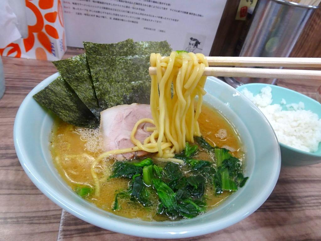 武蔵家の麺