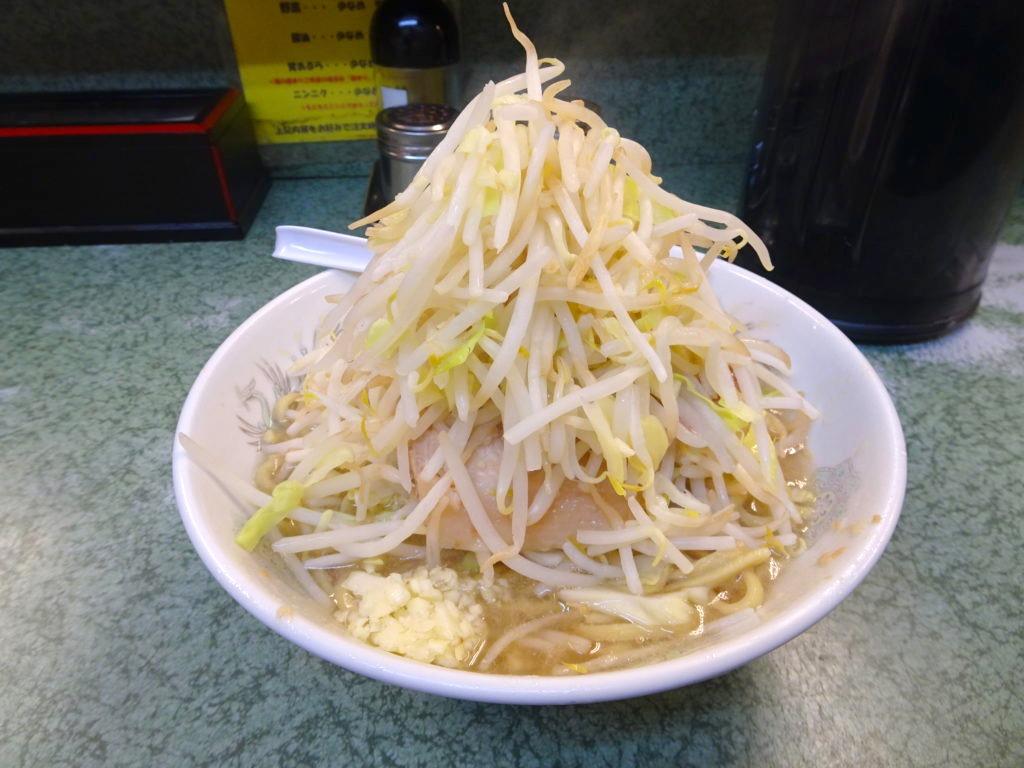 二郎小滝橋通り店のラーメン