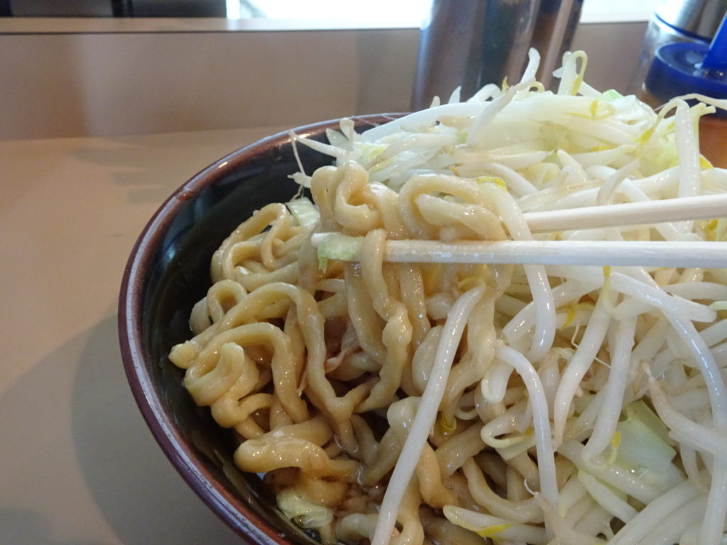 The Outsidersの麺