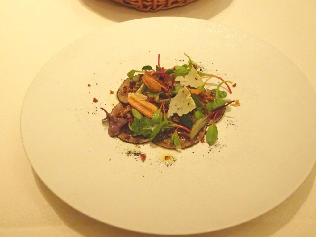 トリュフのサラダ