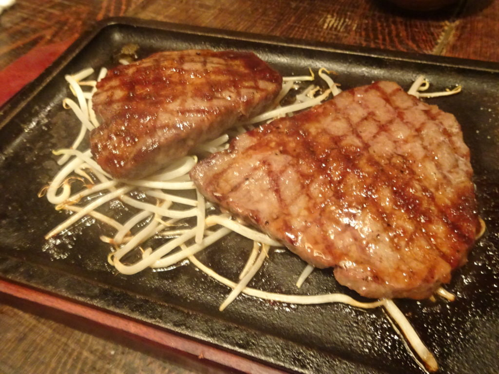 ステーキのおかわり
