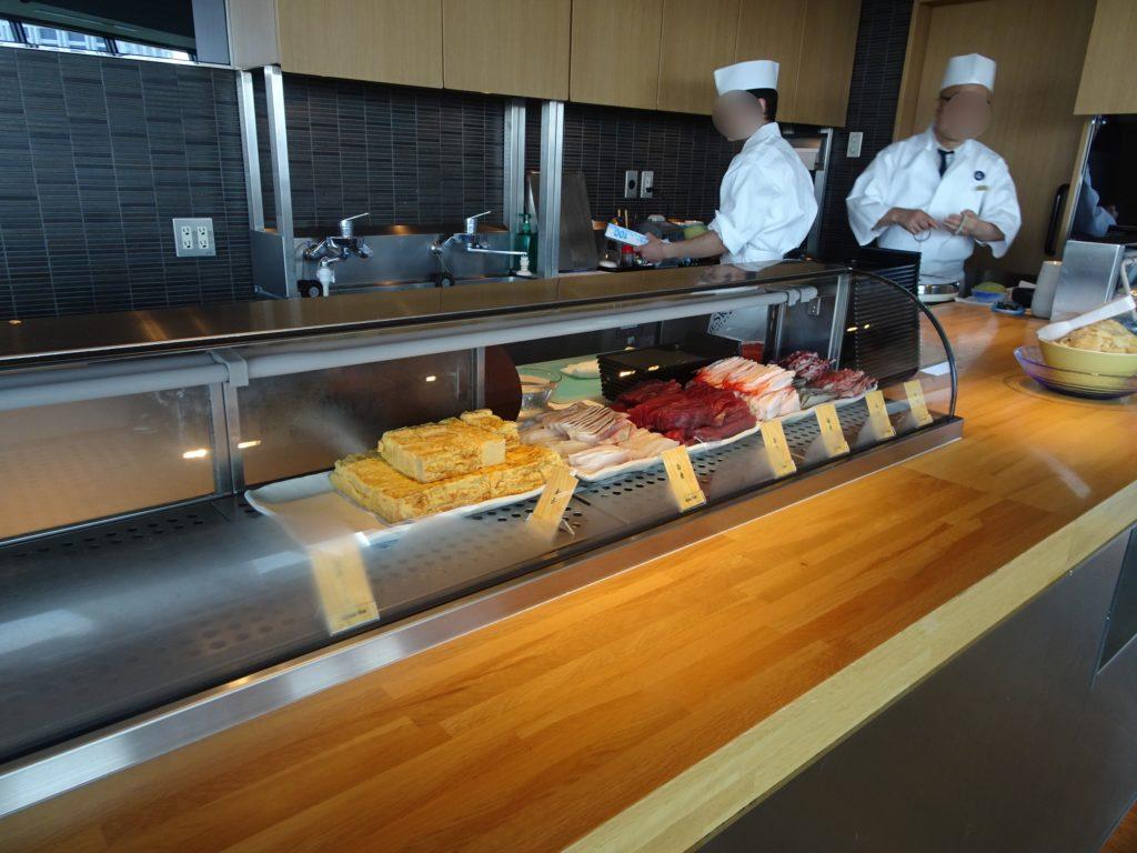 お寿司のビュッフェ