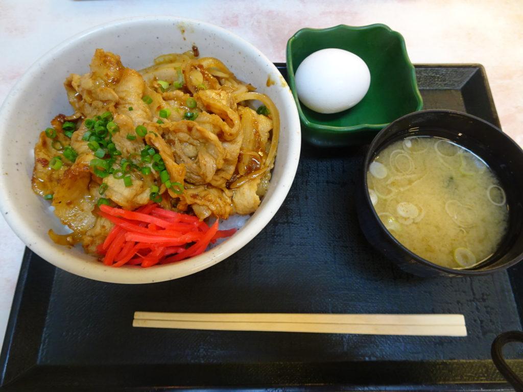 三芳スタ丼