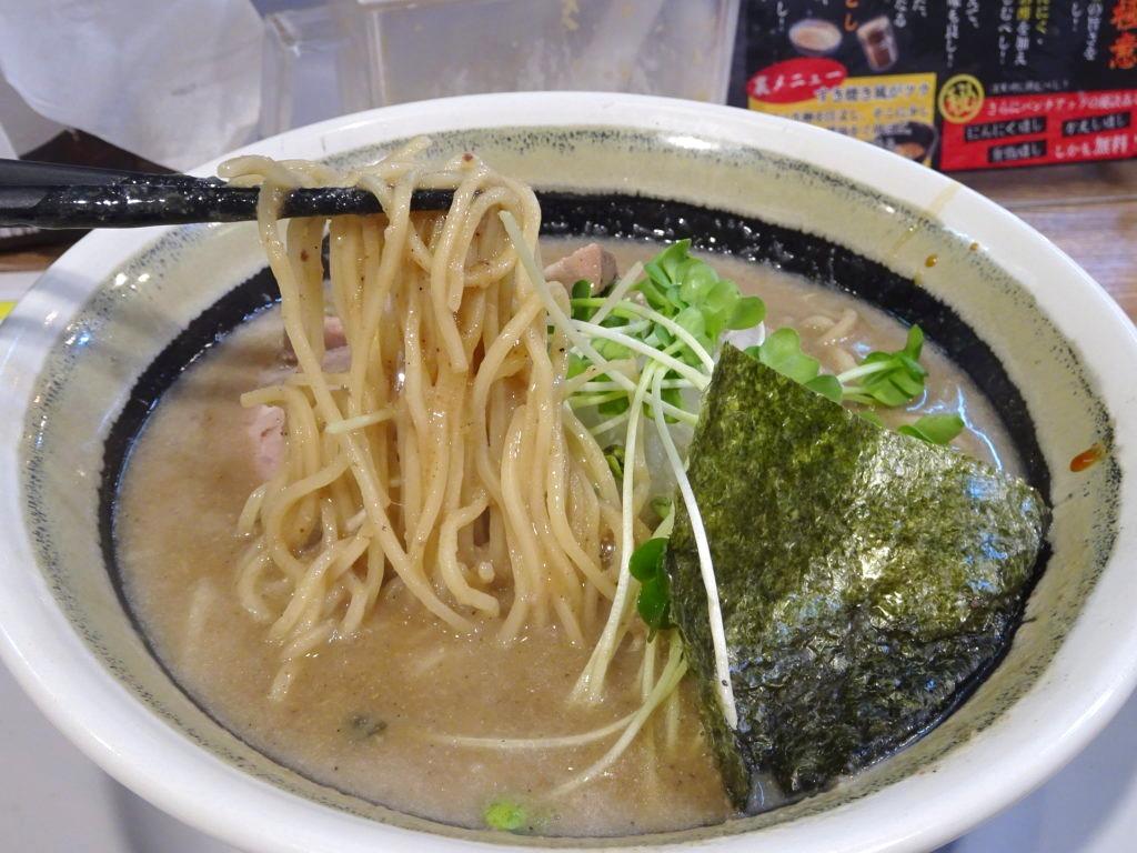濃厚煮干しの麺