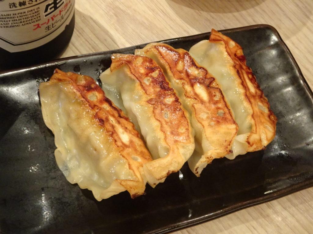 焼き餃子4ケ