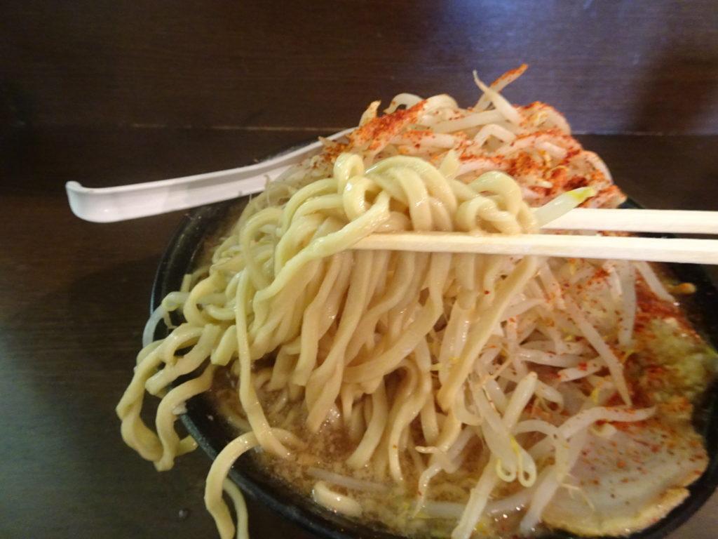 ラーメン二郎 JR西口蒲田店 大ラーメンの麺