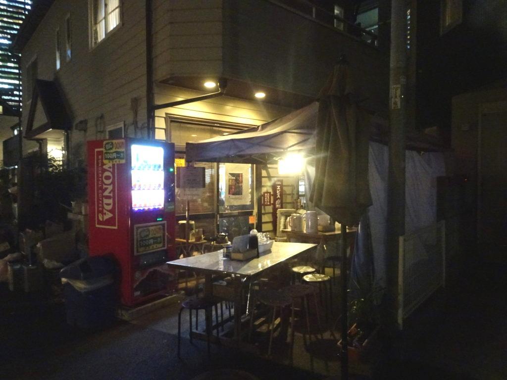 ラーメン隊 目黒三田店 (らーめんたい) 外の席