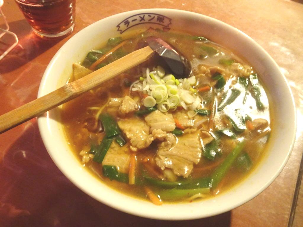 肉ニラあんかけ麺