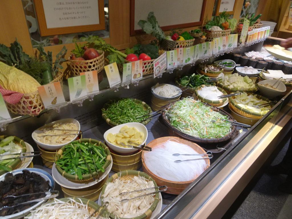 野菜ビュッフェ2