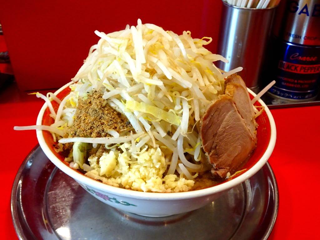 ラーメン タロー 五反田の陣 大ラーメン野菜マシマシ