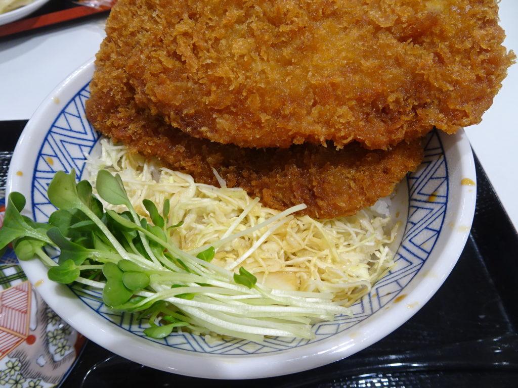 姫豚わらじかつ丼2