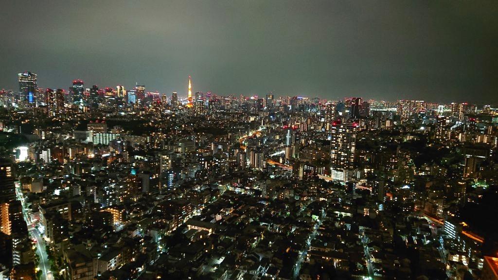 恵比寿ガーデンプレイス38階からの写真