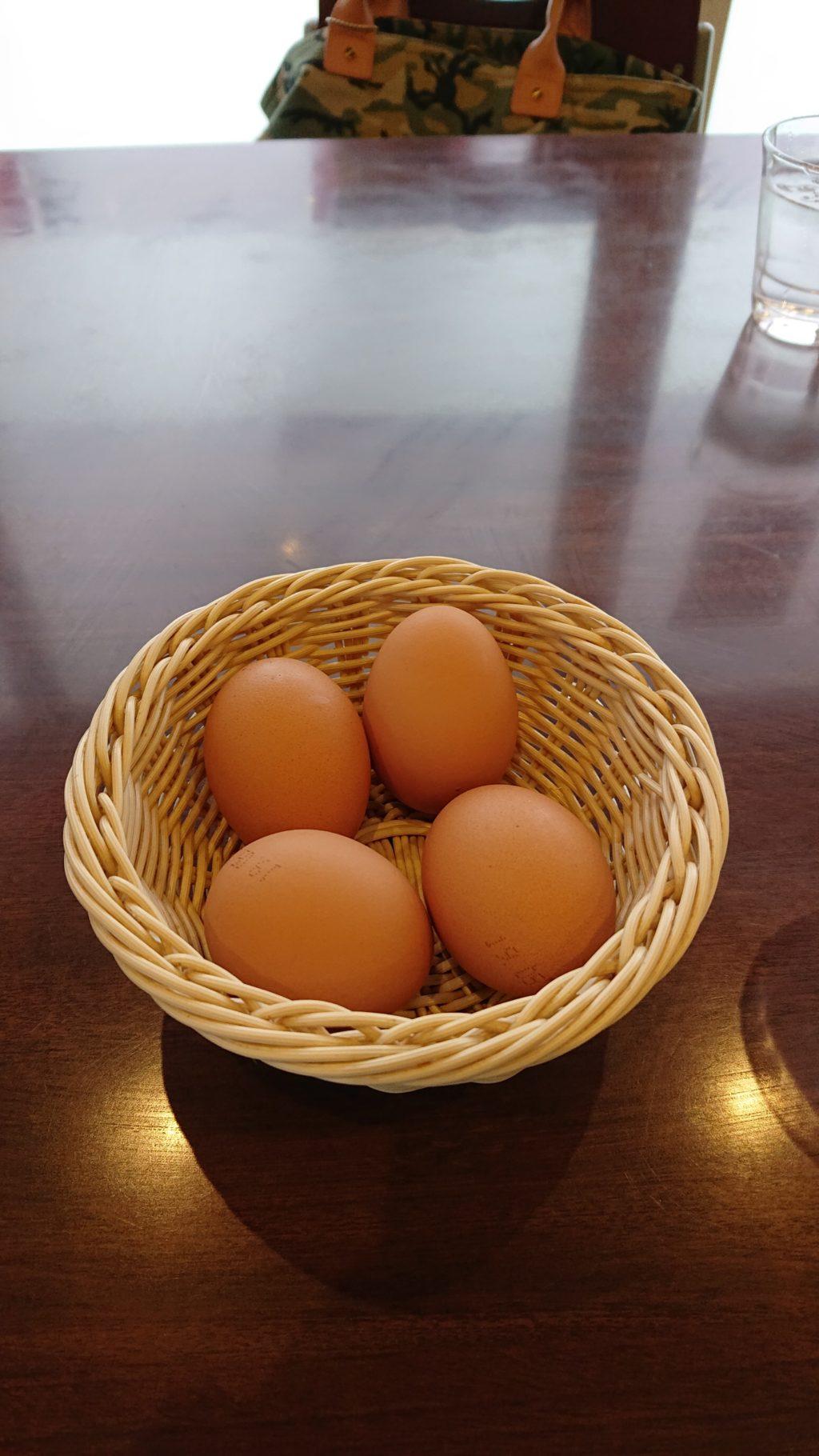 ラーメン東大 住吉店 サービスの生卵