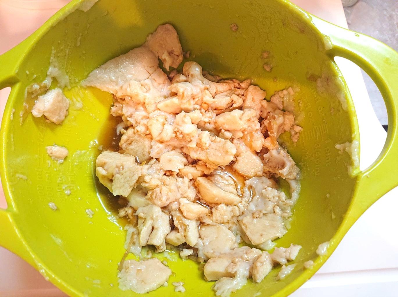 二郎のスープ 残った脂の塊