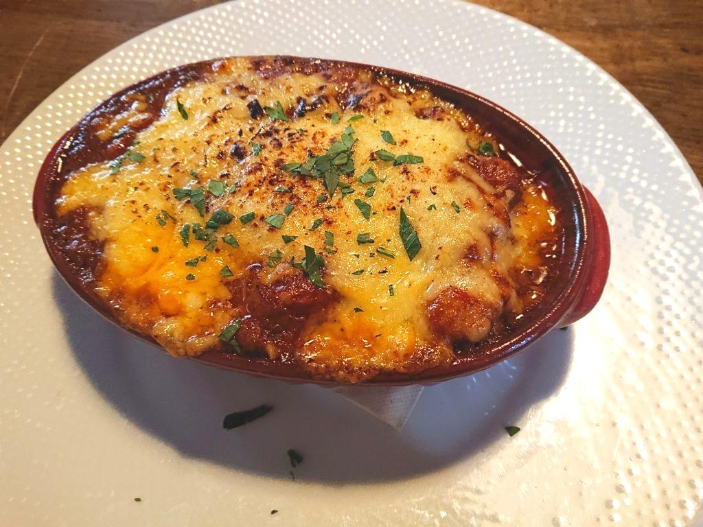 今週の丼ランチ(焼チーズトマトチキンカレードリア)