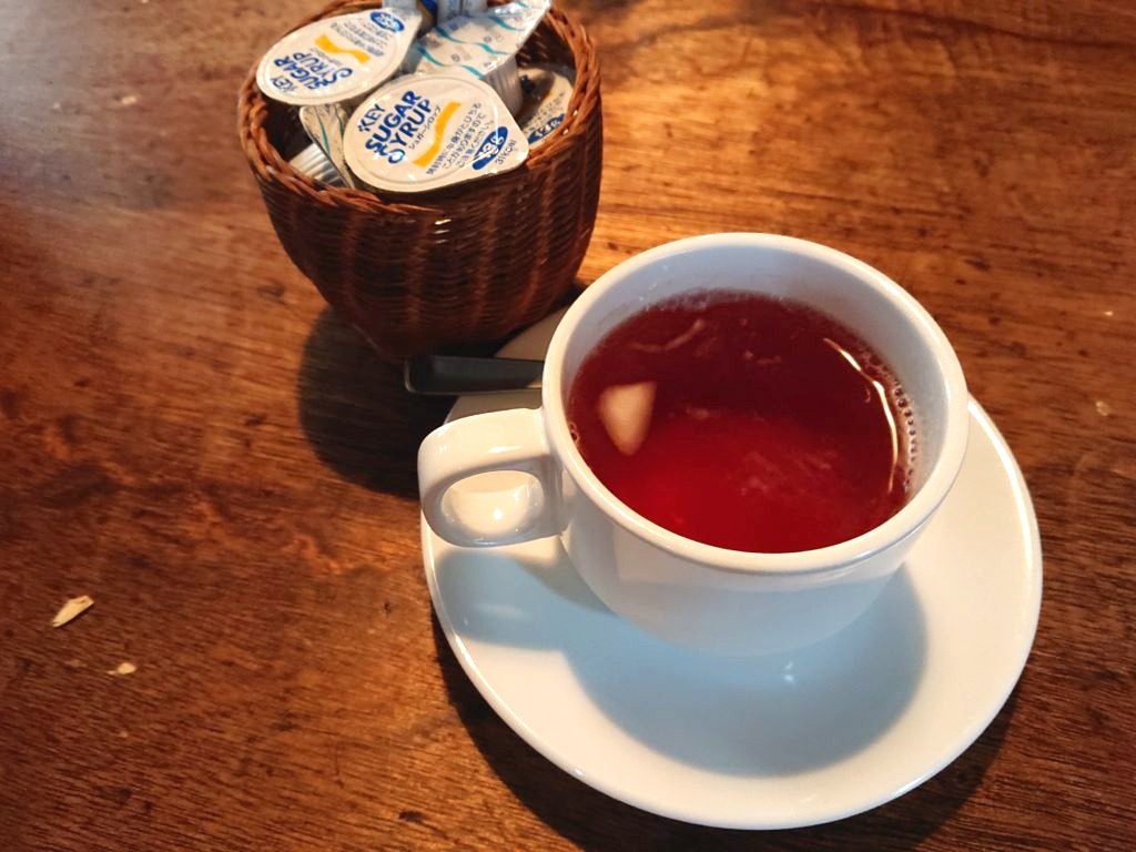 食後の紅茶50円