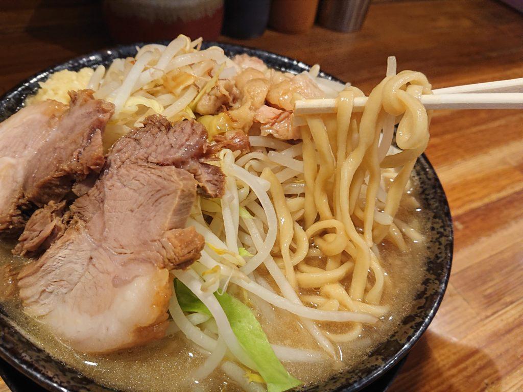 ラーメン 盛太郎の麺