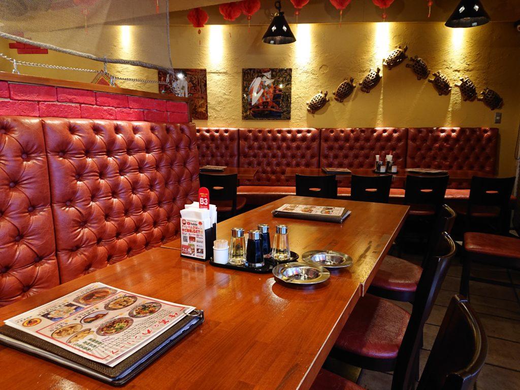 中国茶房8 恵比寿店 (チャイニーズカフェ・エイト) ソファ席