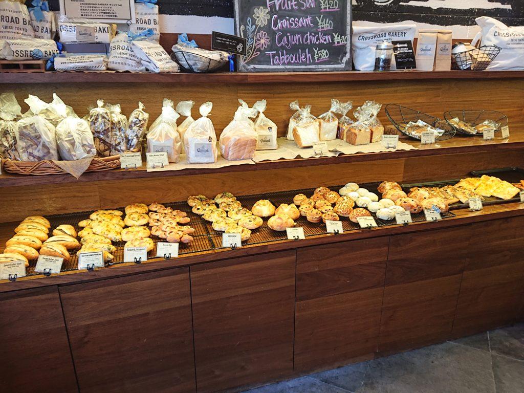 クロスロード ベーカリー 恵比寿本店 (Crossroad bakery) 食べ放題のパン3