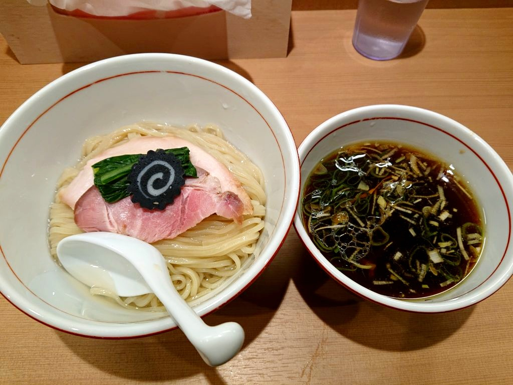 らぁ麺 くろ渦 つけ麺~濃厚昆布水添え~