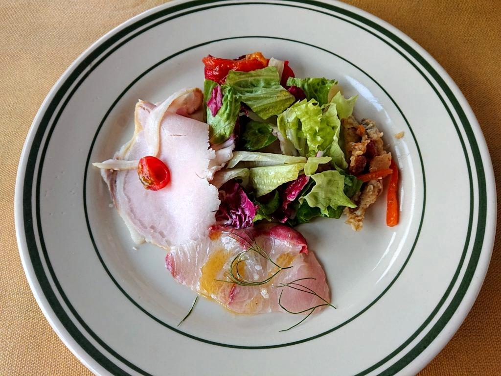 バンデルオーラ(BANDERUOLA) ランチメニューの前菜