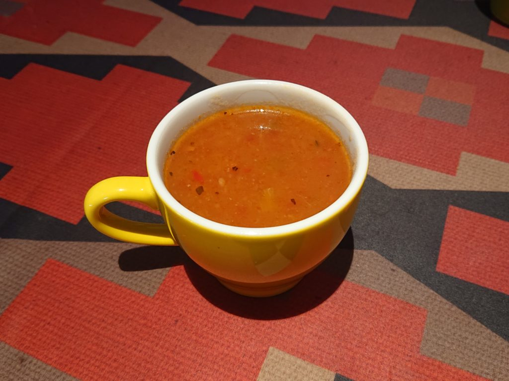 ラ エスキーナ スープバーのスープ