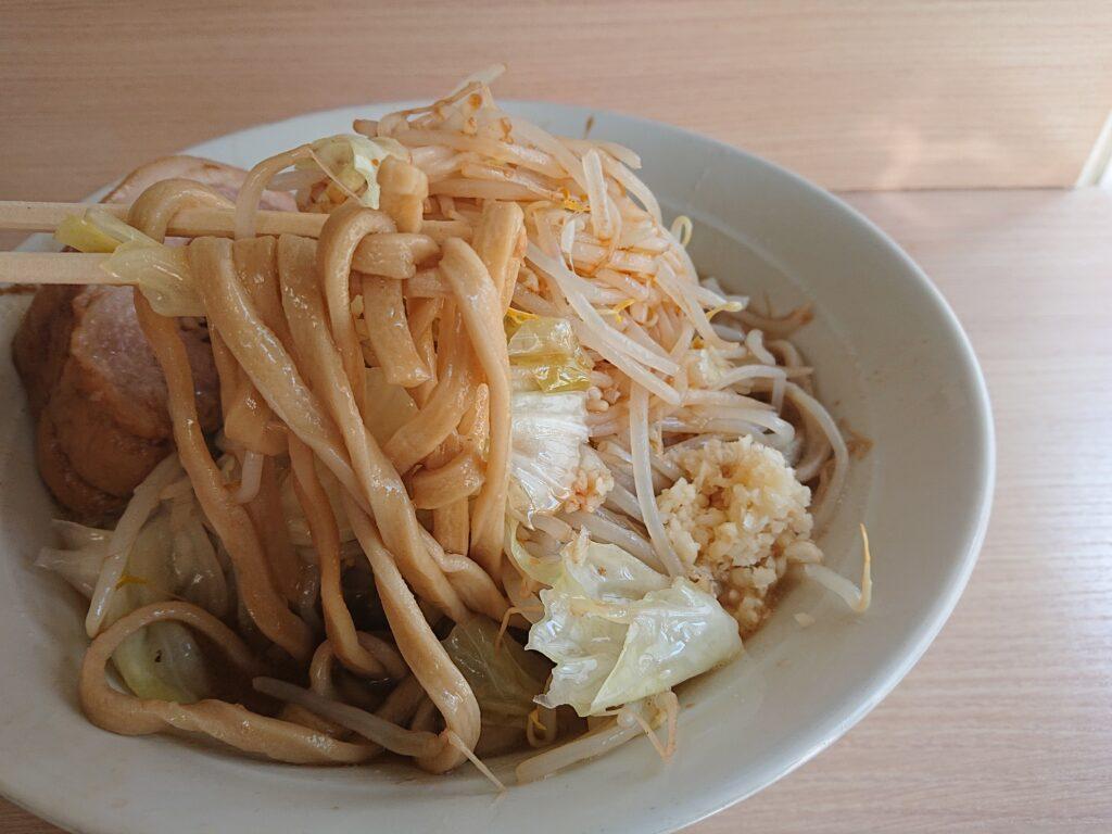 麺屋 味方 ラーメンの麺