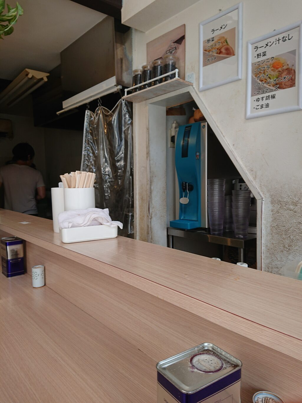 麺屋 味方 店内の写真