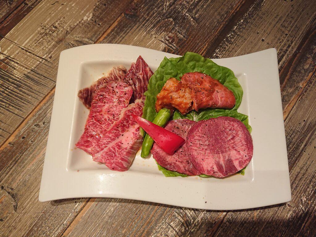 [期間限定]5周年記念 代官山スペシャル焼肉セットのお肉