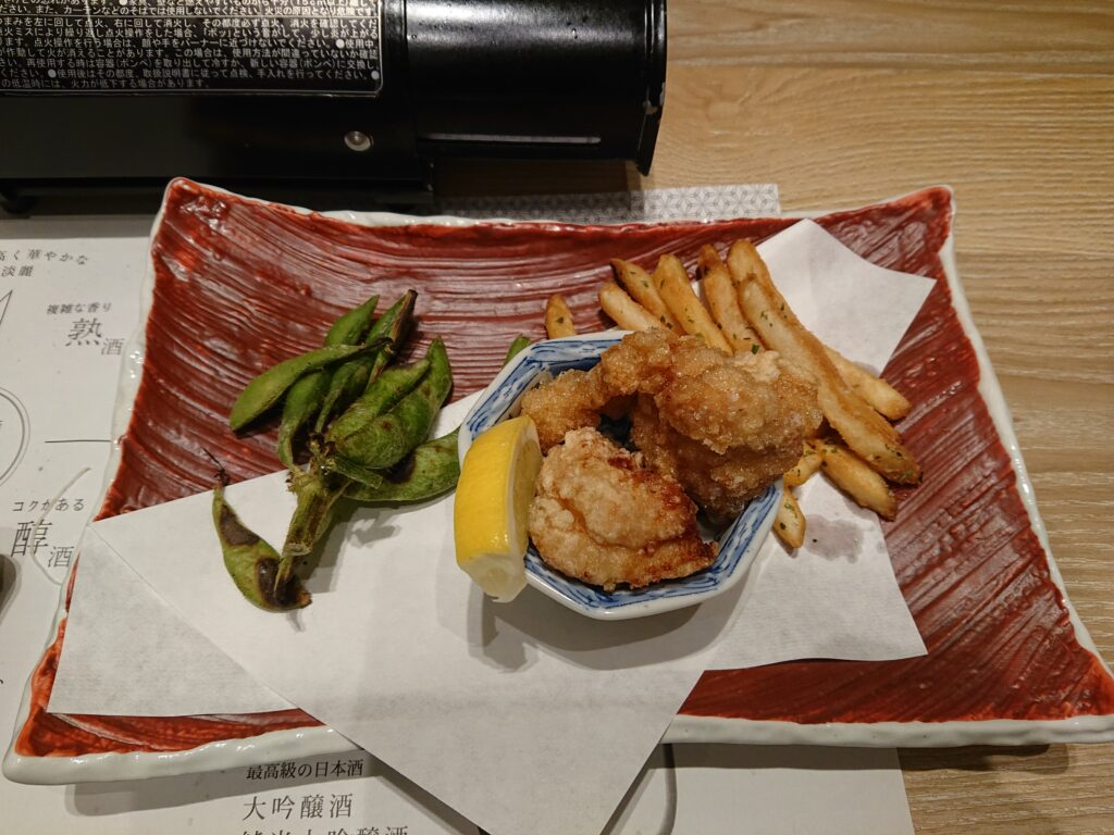 東京コトブキ 虎ノ門 (【旧店名】肉のコトブキ) コースの揚げ物
