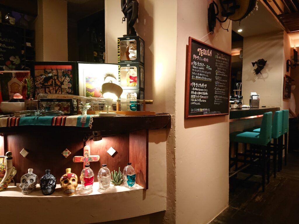 ZONA ROSA (ソナロッサ)@恵比寿 店内のインテリア