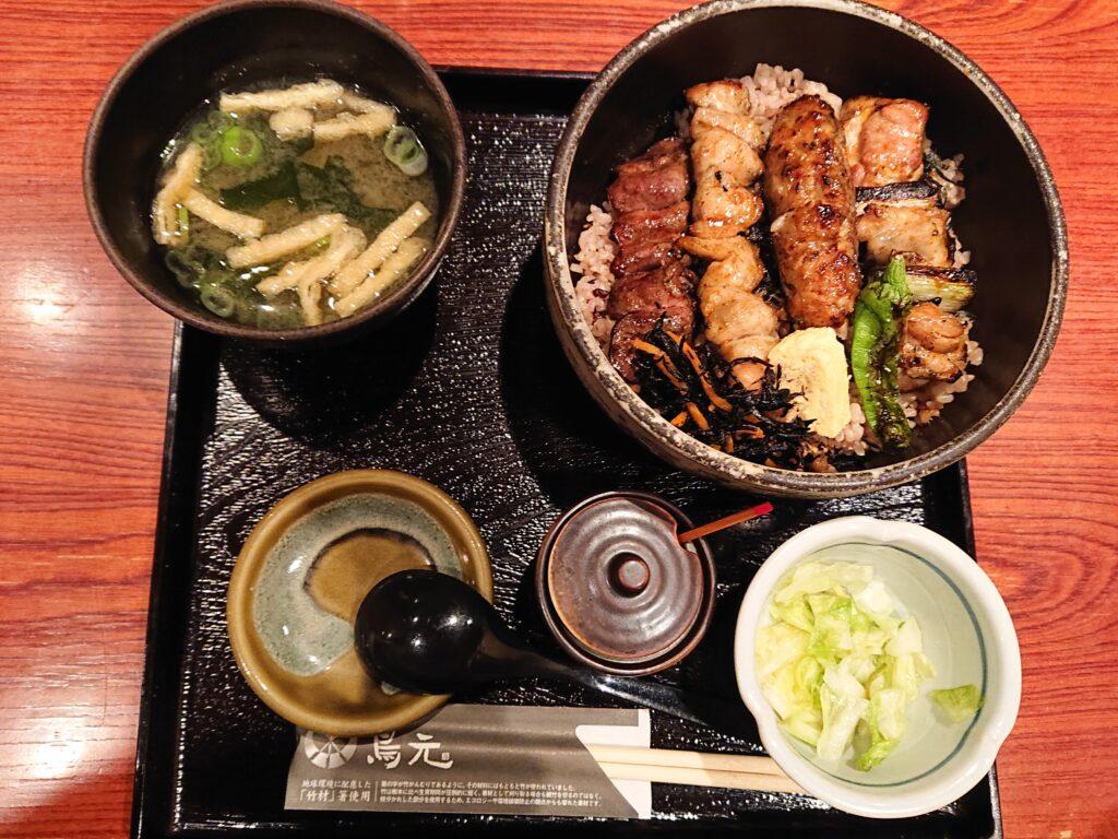 焼き鳥丼 950円