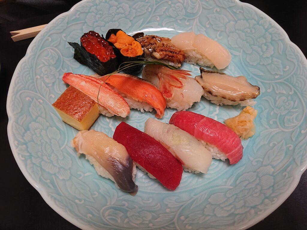 寿し心 なかむら 寿司セット1