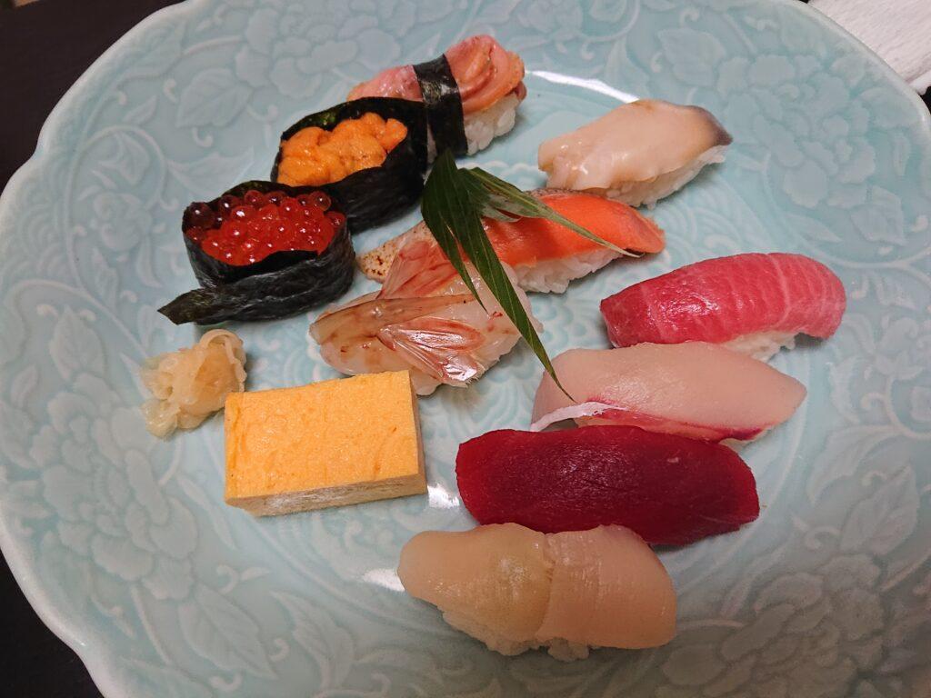 寿し心 なかむら 寿司セット2